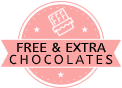 Chocolate mantra offers extra free chocolates with every order