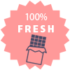 We maintain zero stock, every chocolate is made fresh and delivered fresh