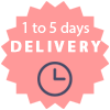 More than 95% of ordered delivered in max 3 days from ordered date